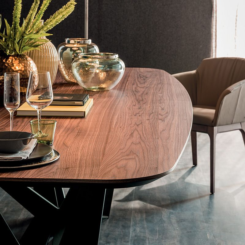 skorpio wood dining table dining tables dining. Black Bedroom Furniture Sets. Home Design Ideas
