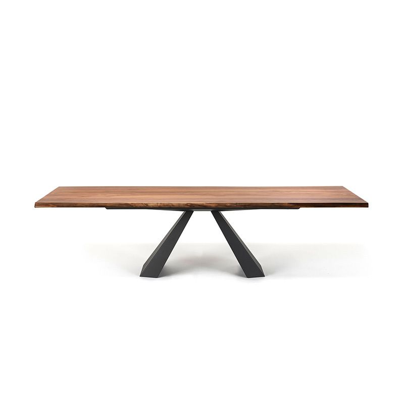 eliot wood dining table dining tables dining cattelan